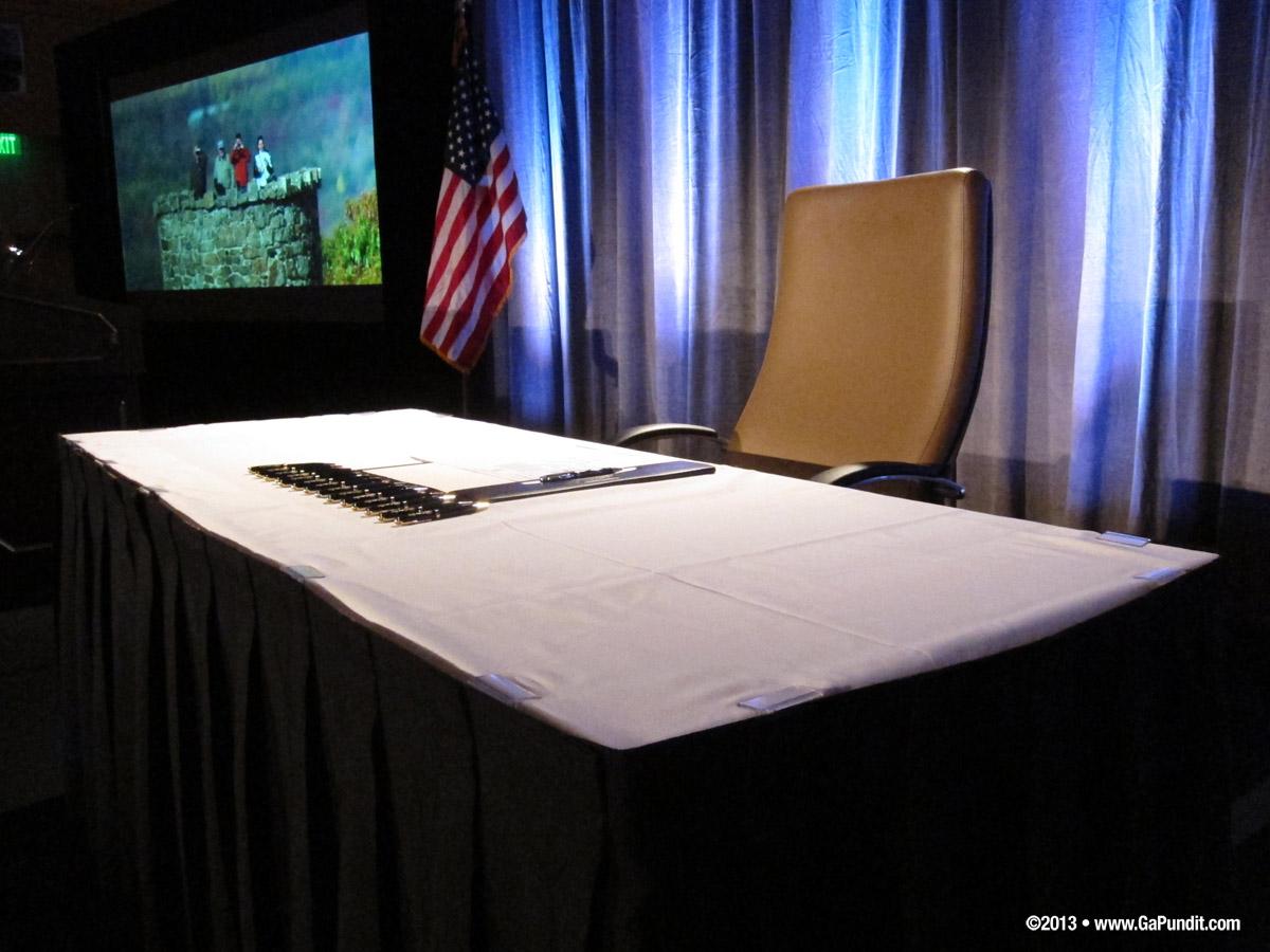 Bill Signing Table1