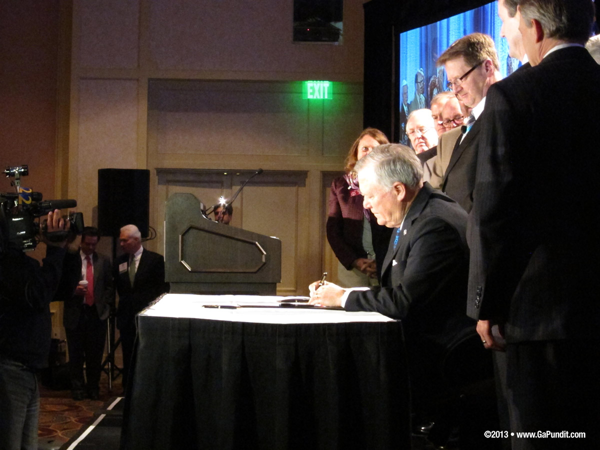 Deal Signing SB 24