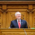 Governor Deal addresses the State Senate