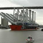 New cranes arrive at Port of Savannah
