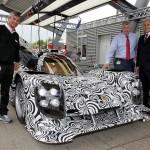 Porsche Rolls Out LeMans Prototype Race Car for 2014 Campaign