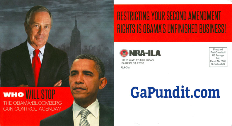 Perdue NRA Mail Front