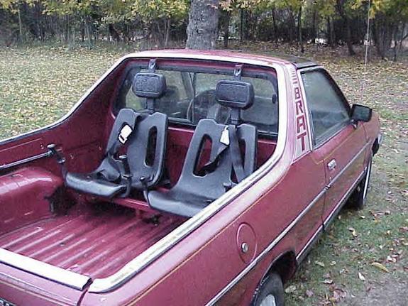 Subaru Brat Rear Seats