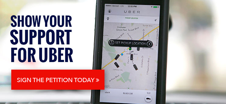 Uber petition