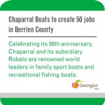 Gov. Nathan Deal: Chaparral Boats to Create 50 Jobs in Berrien County