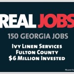 Gov. Nathan Deal: Ivy Linen Services to Create 150 Jobs in Fulton County