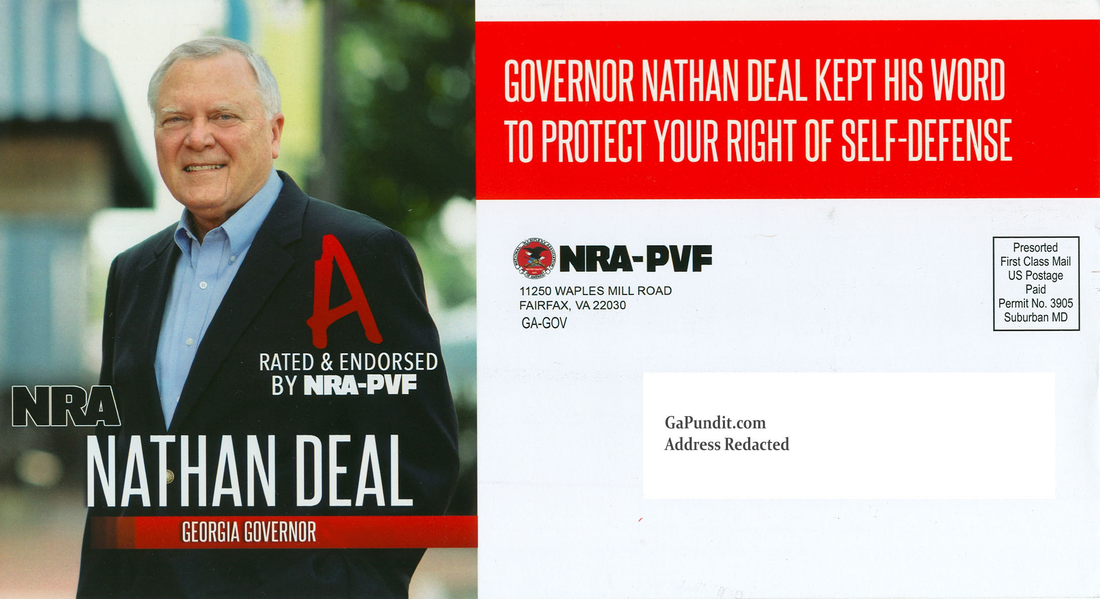 Nathan Deal NRA Mailer Front2