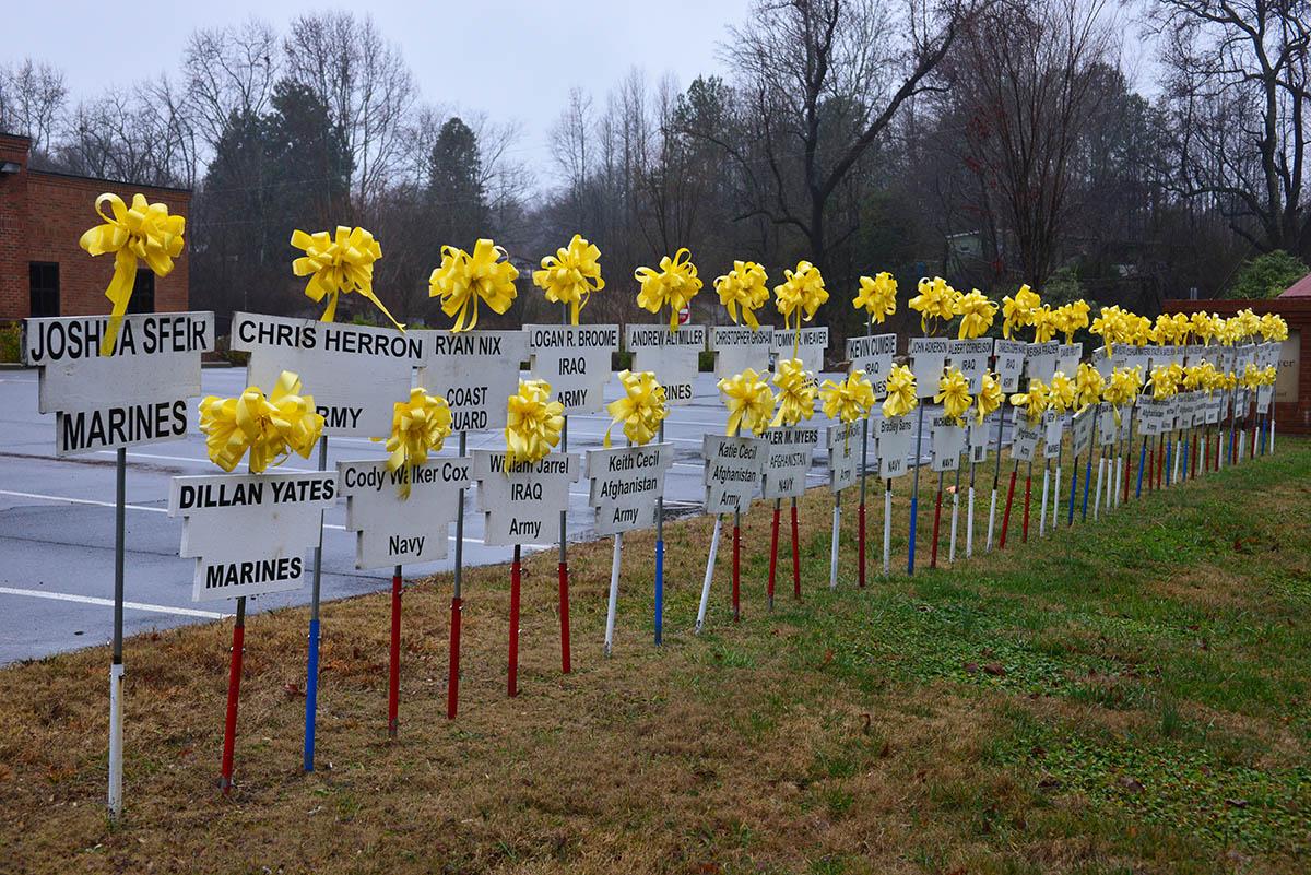 Dawsonville Ga Yellow Ribbons