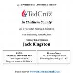Ted Cruz in Savannah December 19, 2015, Kennesaw the 18th