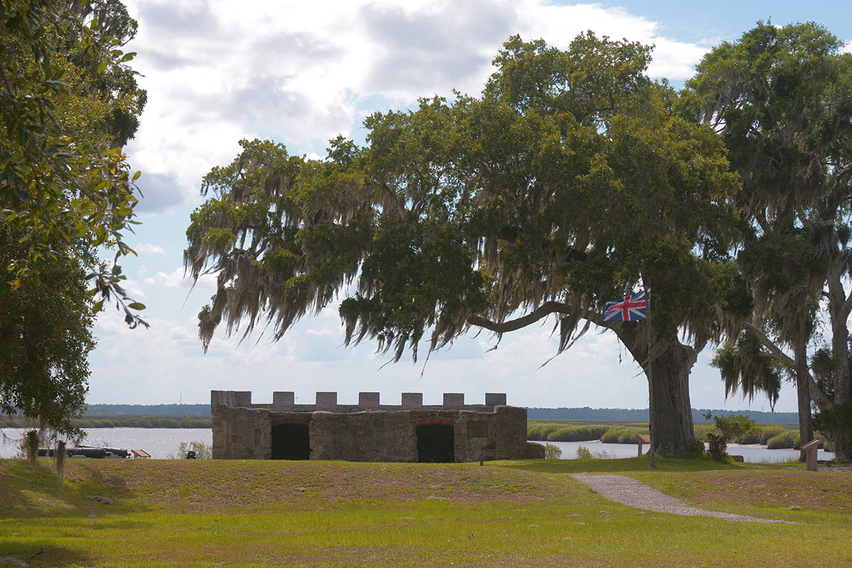 Fort Frederica National National Monument on St. Simons Island